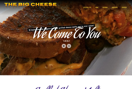 SoCal Web Design - The Big Cheese SoCal